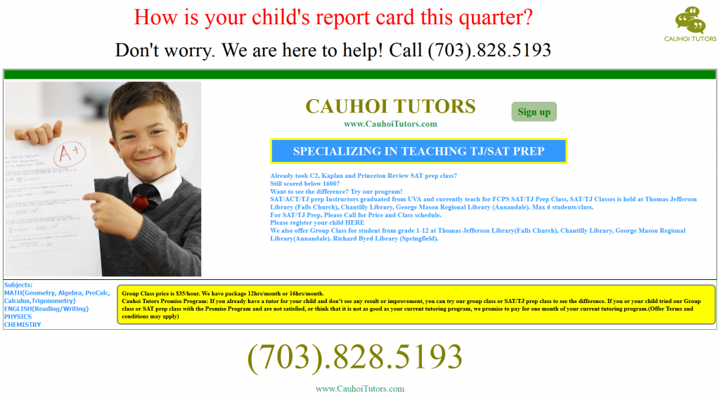 Cauhoi Tutors Craigslist Ad